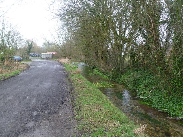 Spetisbury, stream