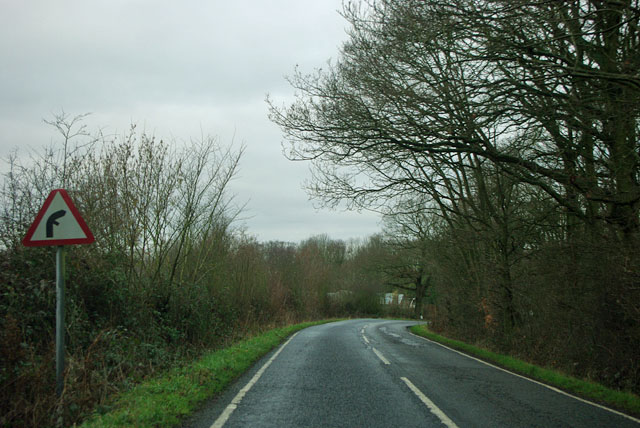 Bend on Ripley Road