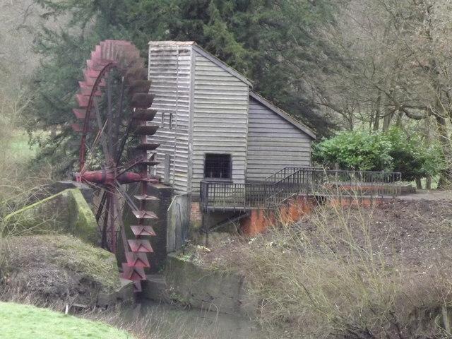 Waterwheel, Painshill Park