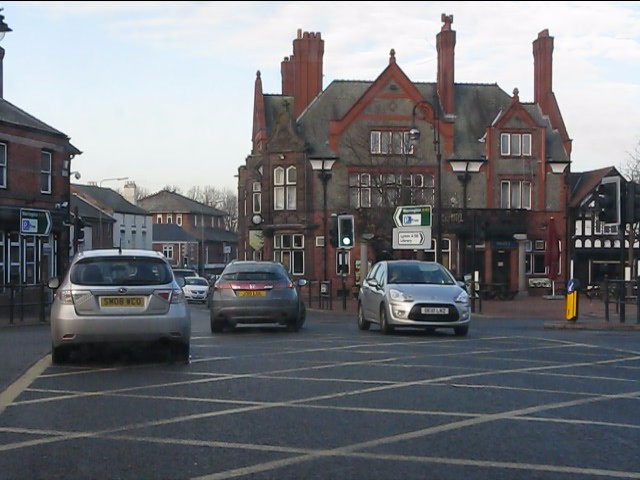 Stockton Heath's centre