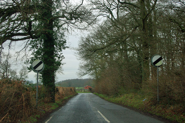 Ripley Road - end of 40 limit