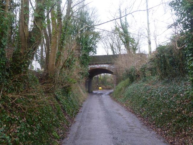 Charlton Marshall, former railway bridge
