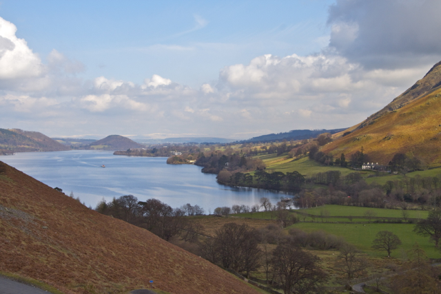 Northern Ullswater from the entrance to Martin Dale