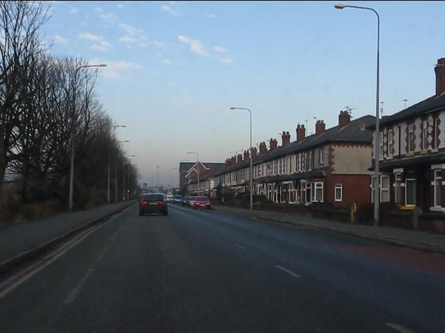 Terraced housing, Chester Road, Warrington