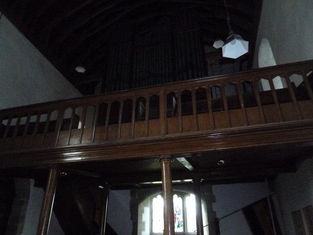 St Mary's Church, Breamore- balcony