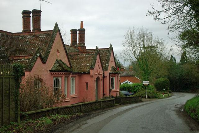 Converted almshouses, Ockham Lane