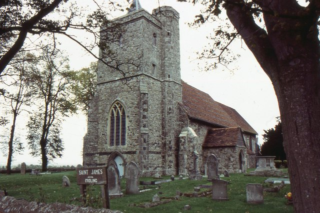 St James' church, Cooling