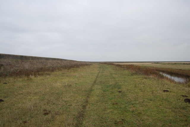 Footpath by Cooling Marshes