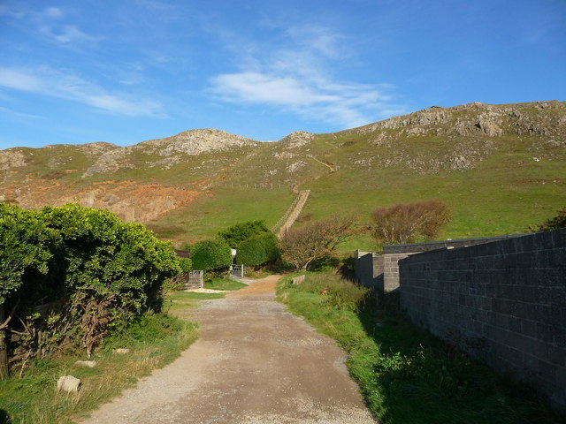 Brean Down - The Path To Brean Down