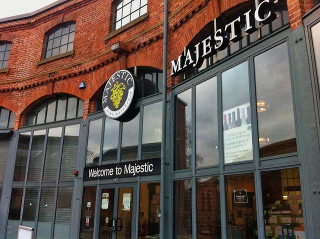 Majestic Wine warehouse Leeds