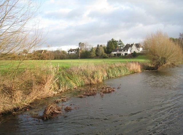 The Avon near Alveston