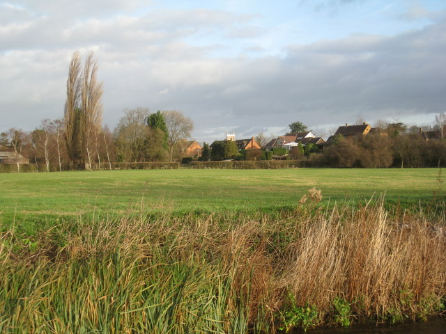 Alveston from the River Avon