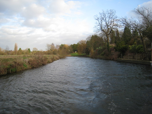 The River Avon at Avoncliffe