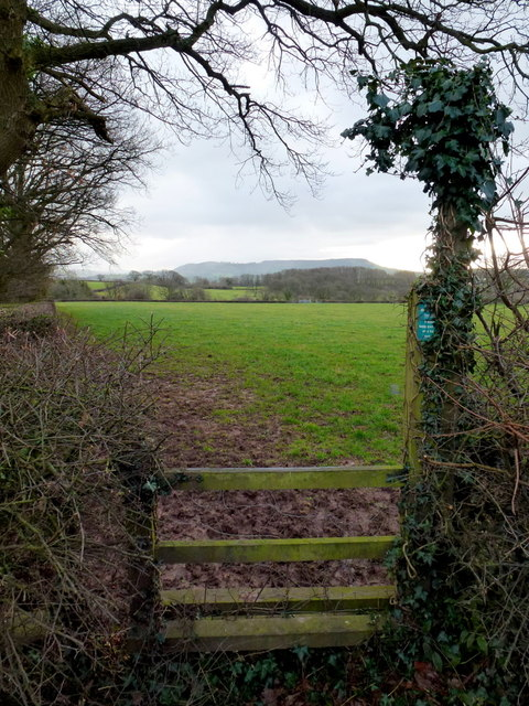 Footpath to Rowlestone
