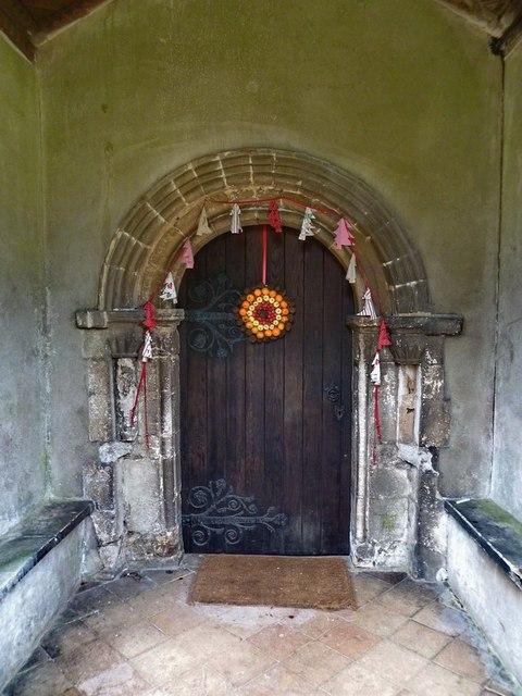 St Mary the Virgin, Everton, Doorway
