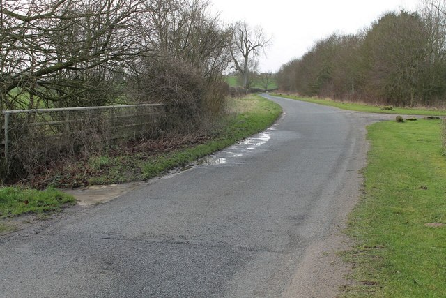 Donnington Road at Washdyke Bridge