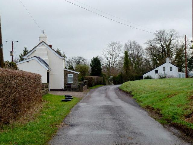 Cluster of cottages
