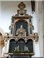TL2051 : St Mary the Virgin, Everton, Memorial by Alexander P Kapp