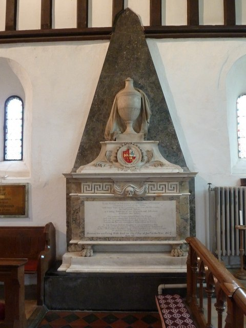 St Mary the Virgin, Everton, Memorial