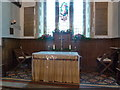 TL2051 : St Mary the Virgin, Everton, Altar by Alexander P Kapp