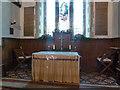 TL2051 : St Mary the Virgin, Everton, Altar by Alexander P Kapp