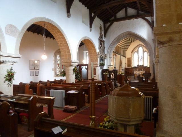 St Mary the Virgin, Everton, Interior