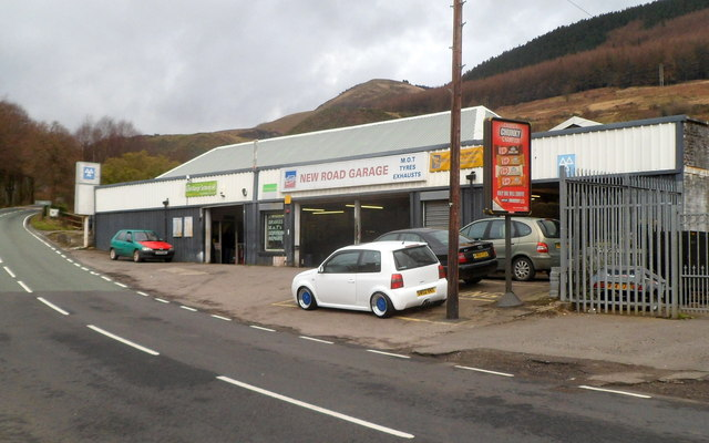 New Road Garage, Treherbert
