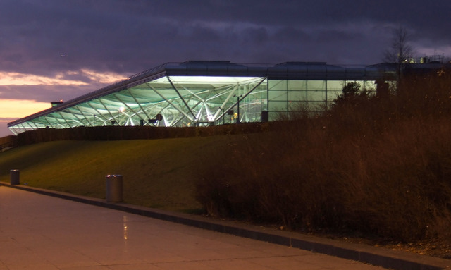 Stansted Airport terminal building