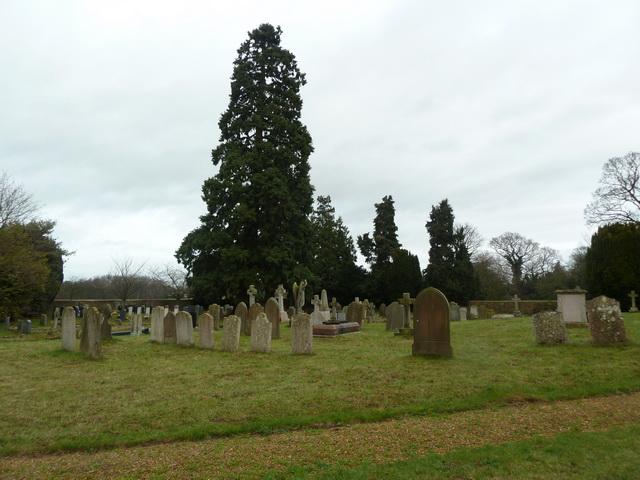 St Mary the Virgin, Everton, Graveyard