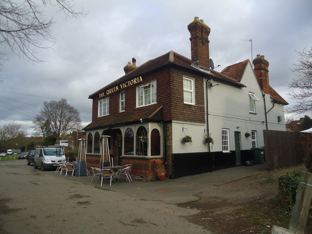 The Queen Victoria public house, Shalford