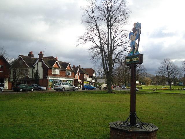 Shalford village sign