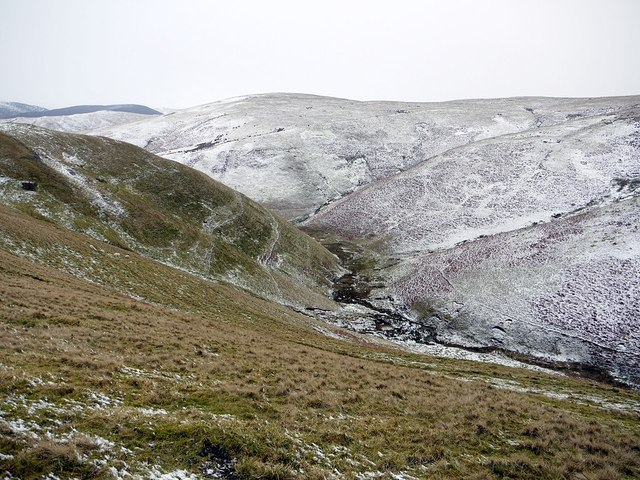 Valley of Trows Burn