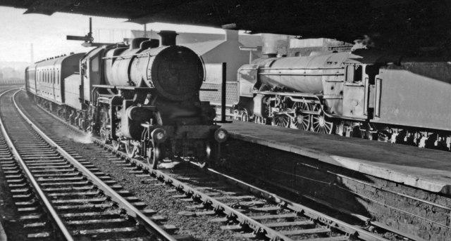 Waverley Route trains at Carlisle