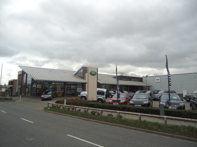 Hunters Land Rover, Guildford