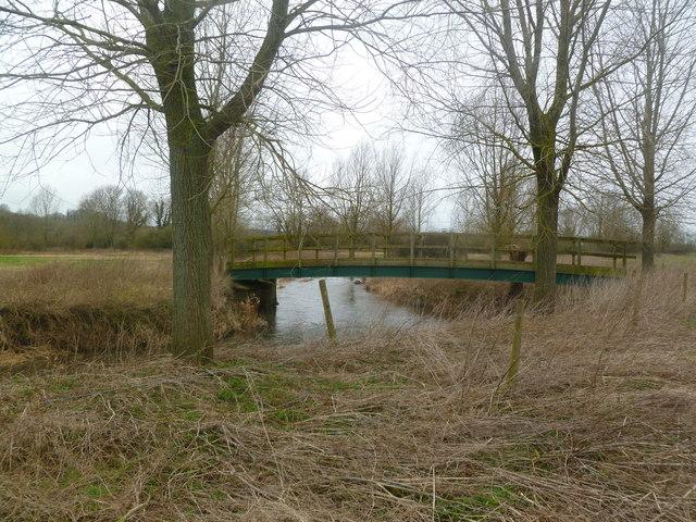 Tarrant Crawford, footbridge