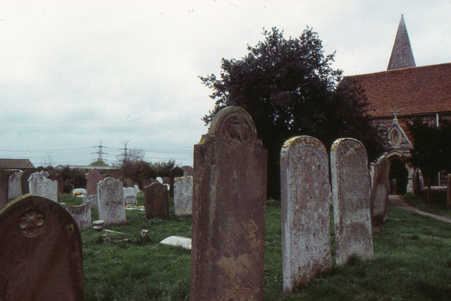 St Mary's church, Lower Higham