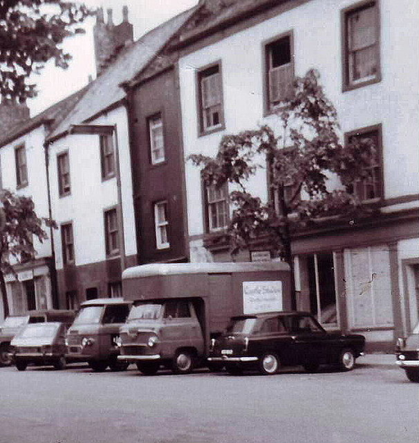 Houses in Main Street, Cockermouth