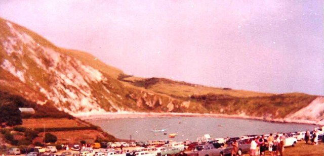 Lulworth Cove, June 1962