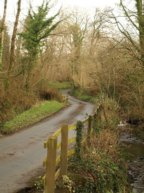 Lane near Lower Hewton