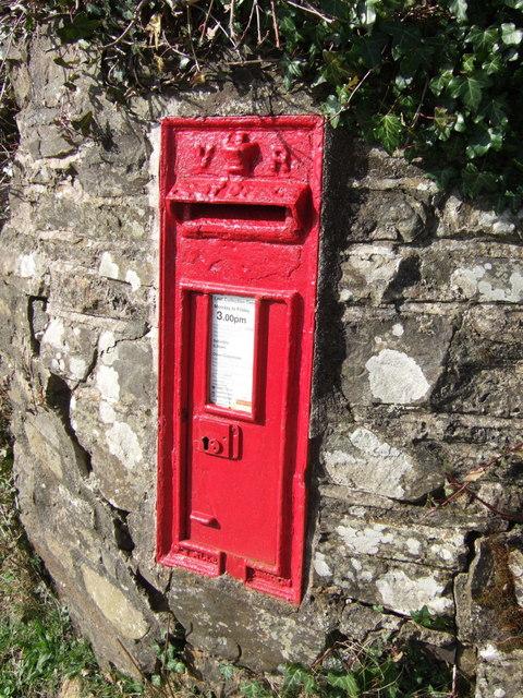 Postbox, Hardhill Cross