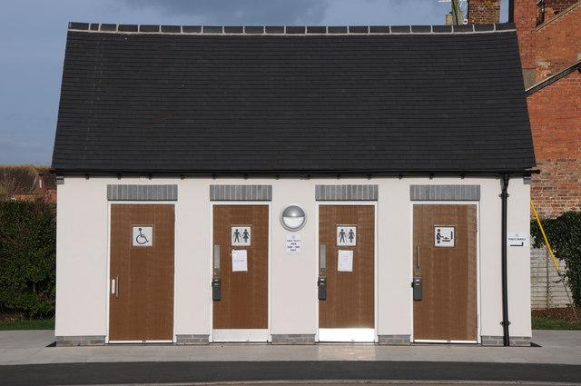Toilets, Gloucester Road Car Park