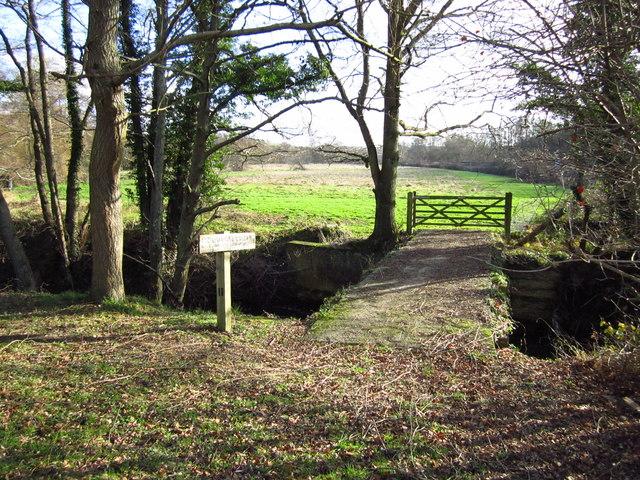 Bridge over Eridge Stream