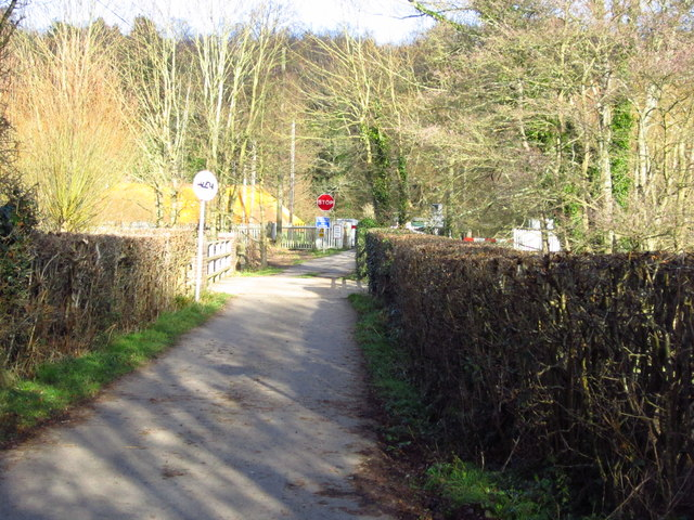 Forge Farm access road