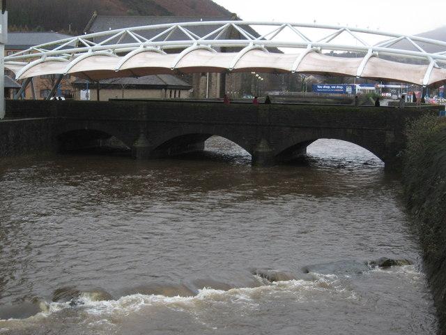 Bridge over Afon Afan, Port Talbot