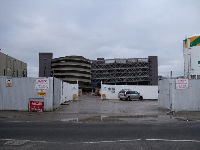 Construction site, Corporation Street, Swindon
