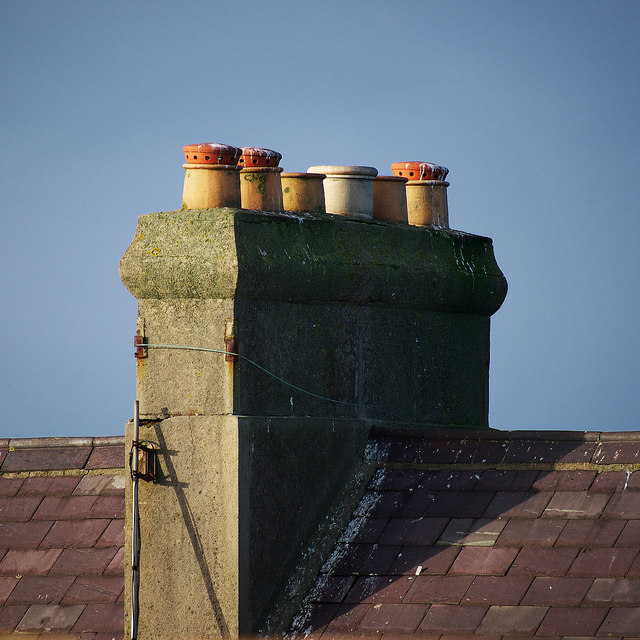 Chimney stack, Bangor