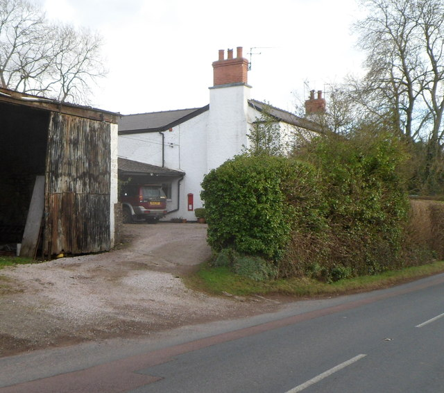 Side view of The Old Post Office, Welsh Newton