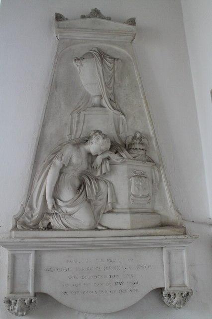 Monument to George Fieschi Heneage