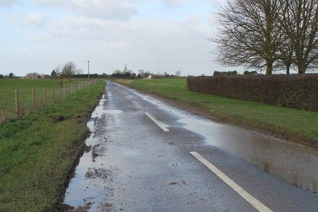 Caleb Hill Lane after rain