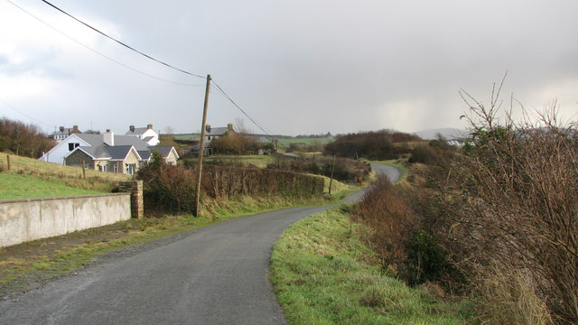 Coastal road, near Mill Bay